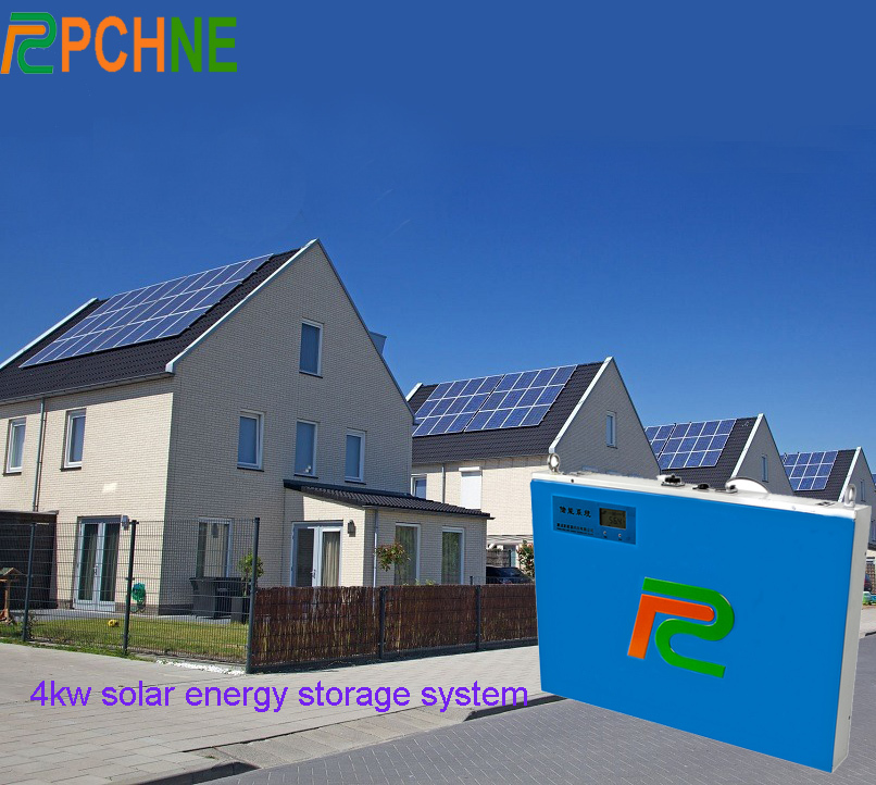 New 4kw Wall Hanging Solar Hybrid Energy Storage System