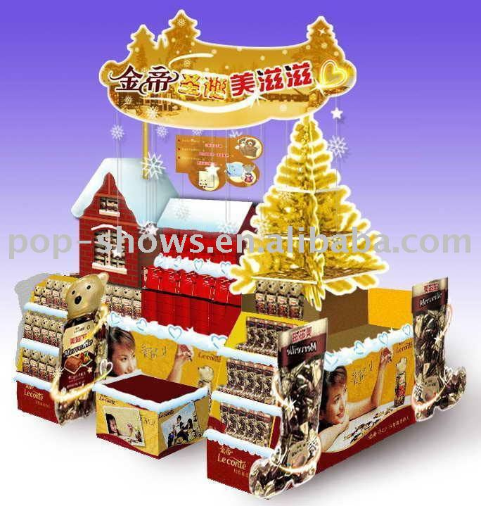 Exhibition Stand In Spanish : Navidad regalos display stands estanterías de supermercado