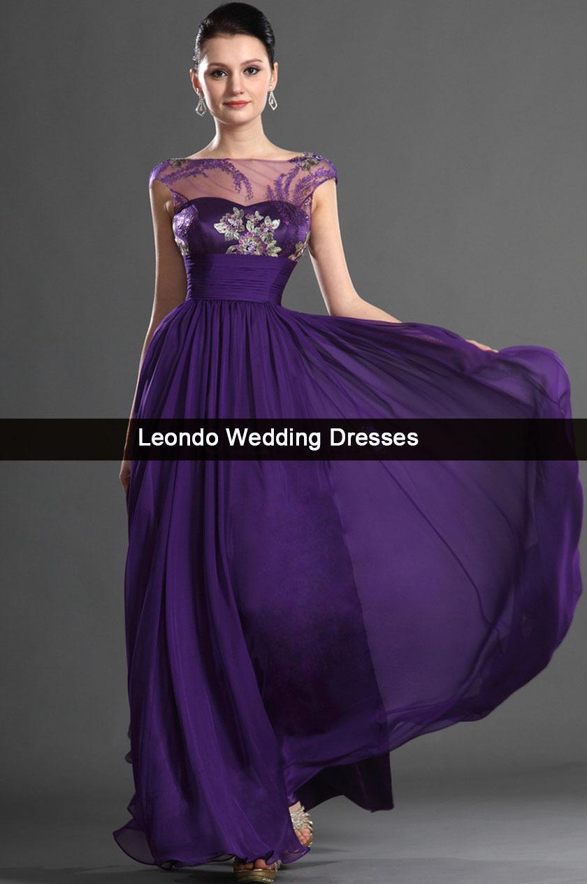 Purple Plus Size Wedding Dress Fashion Dresses