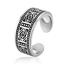 Marlary Jewelry Wholesale Stainless Steel Casting Celtic Cheap Male Biker Cuff Rings