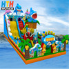 Giant sea world inflatable jumping castle bouncer