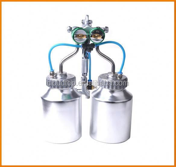 2015 hot on sales ningbo air tools very hot double nozzle adhesive spray equipment fabric paint spray