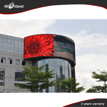 Outdoor LED Display Screen P8 P10 P16 P20 full colour smd rgb programmable led display with good price high quality