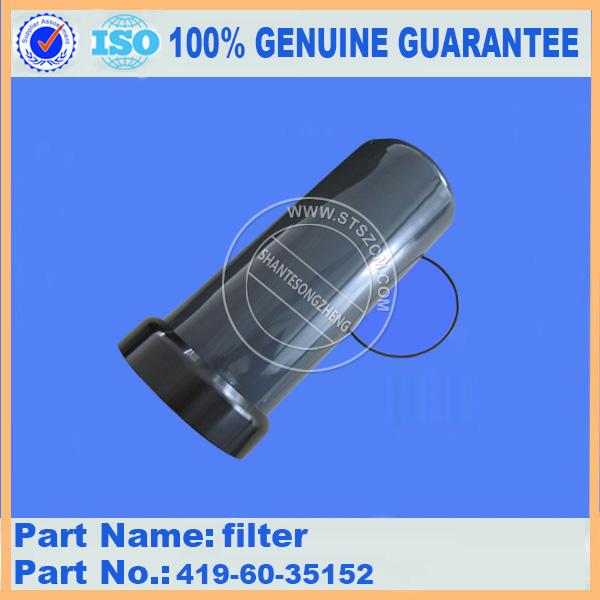 Wa320-5 Fuel Filter 419-60-35152 Cartridge