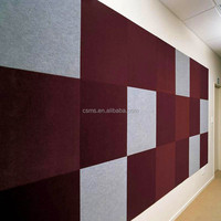 Sound Absorbing Material Polyester Acoustic Wall Panel