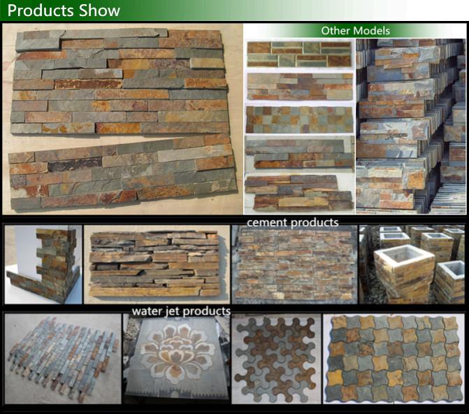 2015 beste prijs roestige leisteen stenen muur paneel 3d decoratie buy product on - Leisteen muur ...