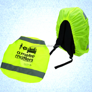 Fluorescent High Visibility Waterproof Safety Reflective Backpack Cover