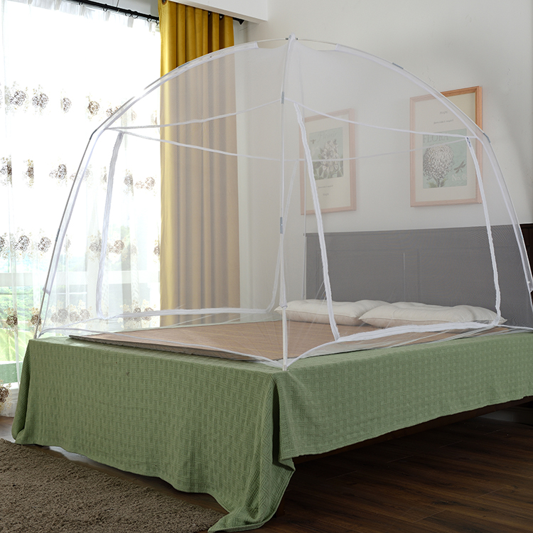 Double Frame Folding Adult Single Size Bed Mosquito Net