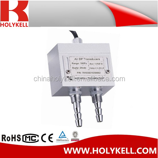 Gas Differential Pressure Sensor Air-Conditioning System Differential Transmitter