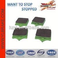High quality resistant china brake pad for jeep