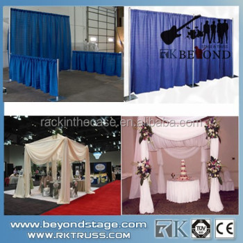 Factory directly pipe drape kitswedding stage decoration factory directly pipe drape kits wedding stage decoration materials for hiring junglespirit Gallery