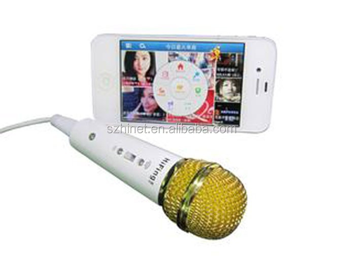 wired Microphone for iPhone/iPod Touch/iPad microphones for singsing