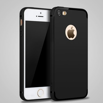 DFIFAN Latest Best Selling Mobile Phone case for iphone 5 5s Grace Black Matte Cover Case for iphone 5s