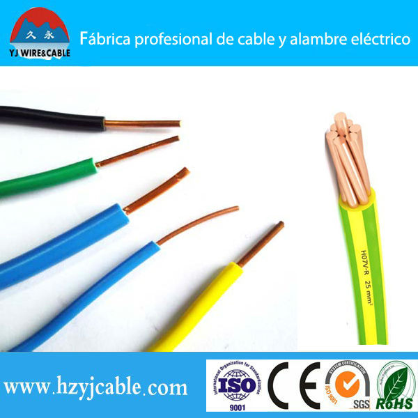 Bv Pure Solid/stranded/annealed Copper Conductor Pvc Insulated ...