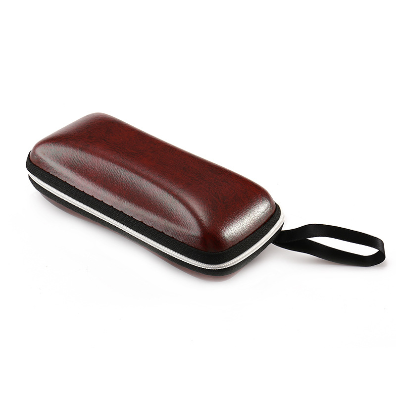 2019 leather sunglasses case custom logo wholesale eva glasses case