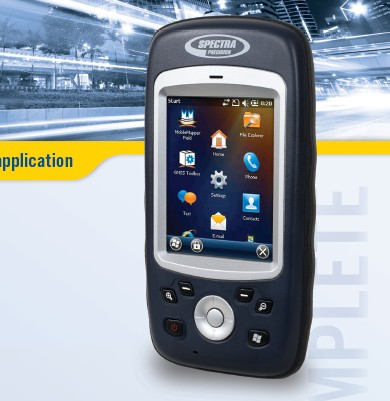 waterproof handheld gis data collector ashtech mobile mapper 20 functional as trimble SB
