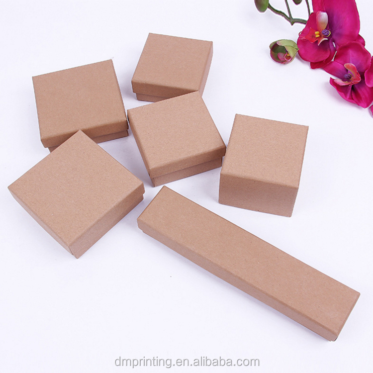 wholesale high quality custom printed OME design cardcoard kraft paper gift box for ornaments packaging