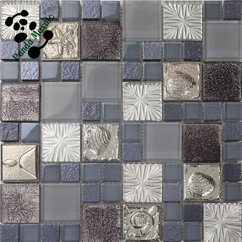 Smp19 behang mozaïek keuken tegels marmer 3d mozaïektegels ...