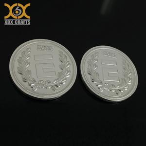 Custom No Minimum Fake Silver Britannia Coin