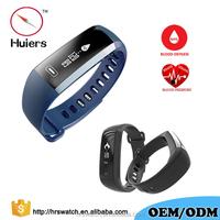 China wireless Reloj intelligent machine blood pressure heart rate automatic monitor watch wrist pedometer bracelet