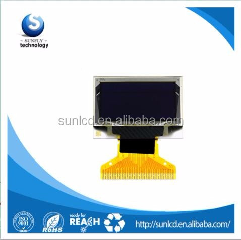 0.96 inch 128x64 oled display with SSD1306 driver IC for 1/64 duty