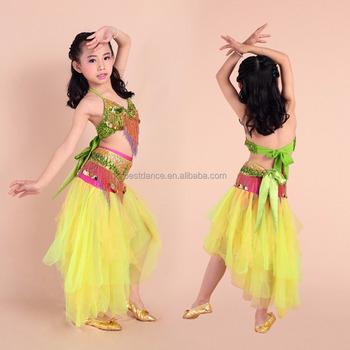 Bestdance Sexy Arab Girl Belly Dance Costume Children Girl Belly