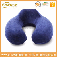 Fashion soft foam airplane pillow