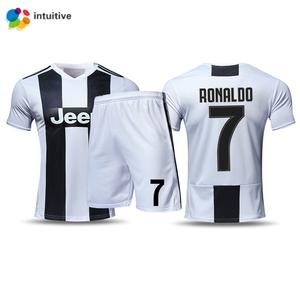 fc7ce2585 Eco-friendly teamsport juventus Ronaldo football soccer jersey shirts