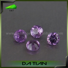 High quality brilliant round natural 2.5mm amethyst geode for sale