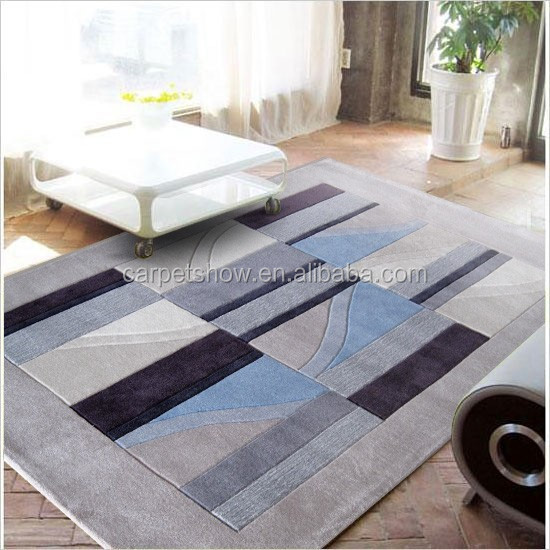 Acrylic hand tufted floral rugs
