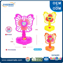 Summer toys 2016 led flashing small electric fan toys