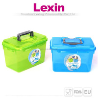 extra large strong kitchen plastic storage boxes with lids