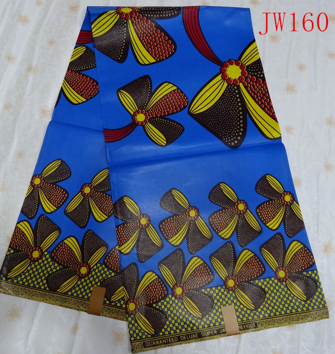 100% Cotton African Real Java Wax Print Fabric/nigeria Super Wax ...