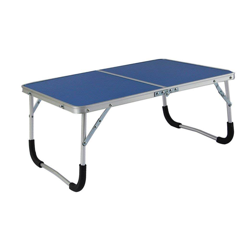 GAOYANG Laptop Table for Bed, Portable Outdoor Camping Table, Breakfast Serving Bed Tray with Legs,Bed with A Desk, Foldable, College Student Laptops Make Table Boards