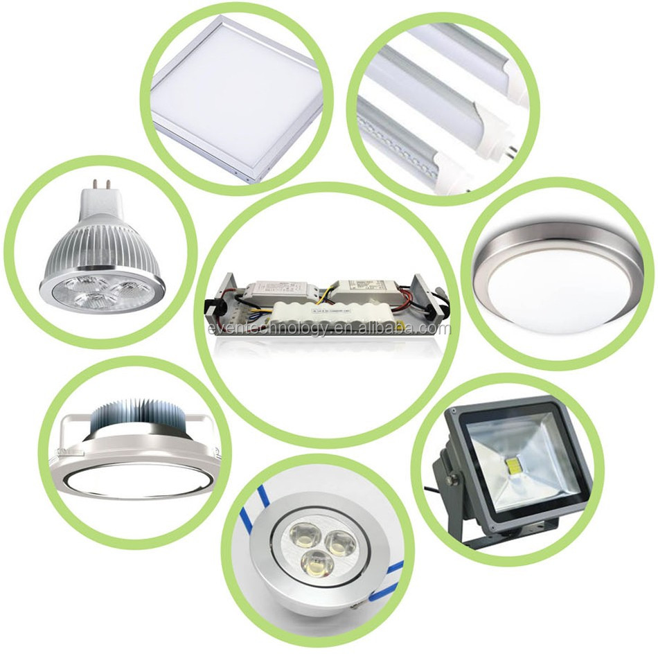 10w Rechargeable Led Downlight Emergency Lighting Battery Pack ...