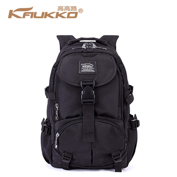 d75ec1fcaa KAUKKO Multi-Purpose Laptop Bag Hiking Outdoor Camping Trip Canvas Backpack