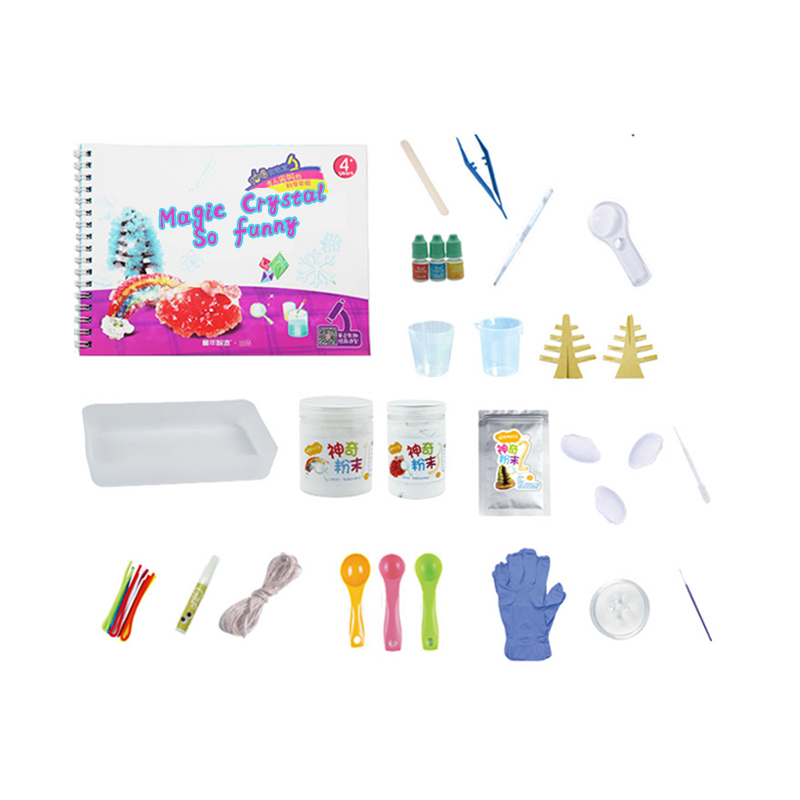 crystal growing diy toy kit