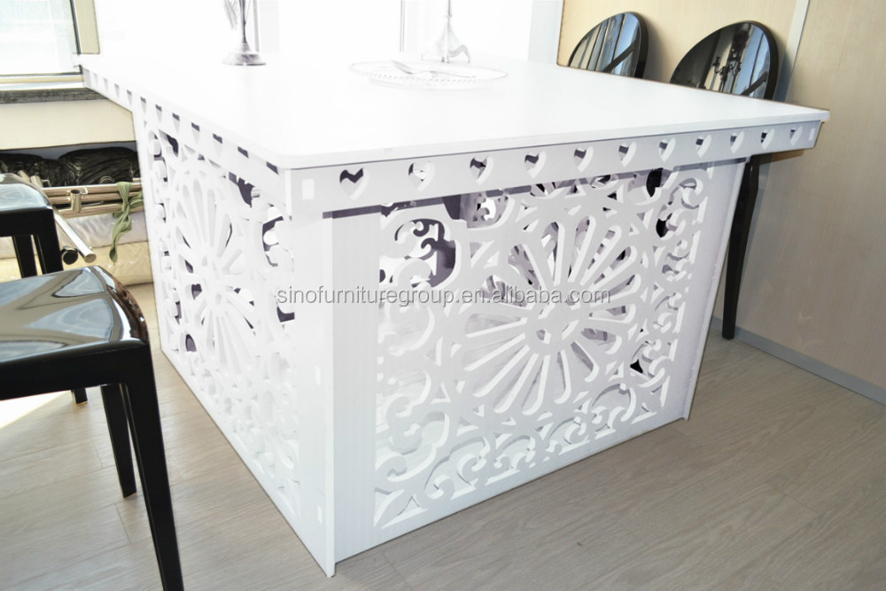Acrylic Glass Wood Top Wedding Table   Buy Wedding Table,Wood Glass Center  Table,Glass Top Wood Leg Dining Table Product On Alibaba.com