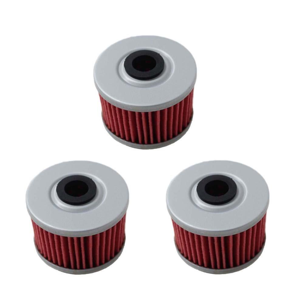 New Pack of 3 Oil Filter fit for Honda TRX200 CBF200 TRX 250 TRX250X TRX 300 ...