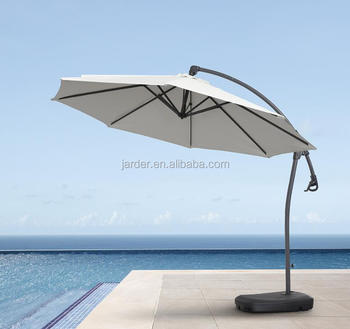 3m Outdoor Garden Patio Aluminium Hanging Parasol Umbrella