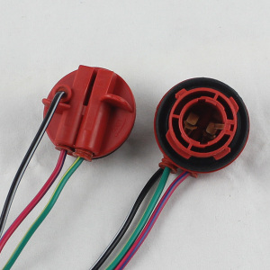 1157 BAY15D Connector 13CM 380 Female Car Light Cable PY21/5W Automotive Bulb Socket LED Bulbs Wire