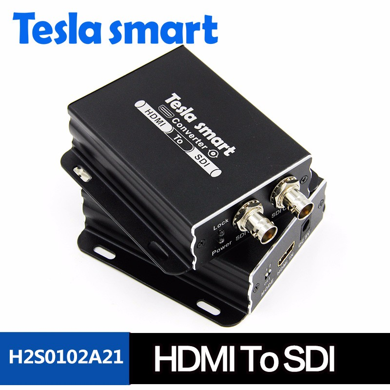 High Quality HDMI To 2 Ways SDI Converter Support 1080P Full HD