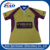 2017 new style promotional custom logo sublimated rugby jersey