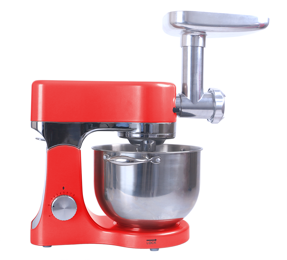 Automatic dough mixer machine with pasta maker