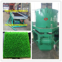 gold washing machine with drum sieve and gold gliding board