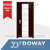 New Design Glass Door PVC coated House Door