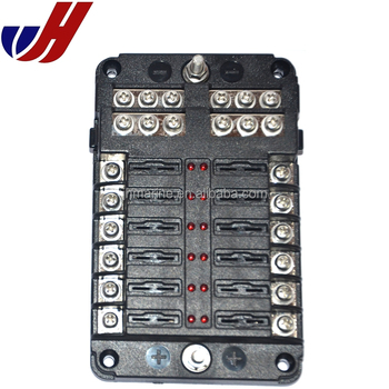bus fuse box 12 way blade fuse box bus bar with cover marine kit car boat bus bar fuse box 12 way blade fuse box bus bar with