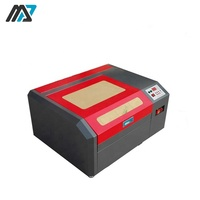 40W 50W 400*400mm Mini Laser Engraving For Cork