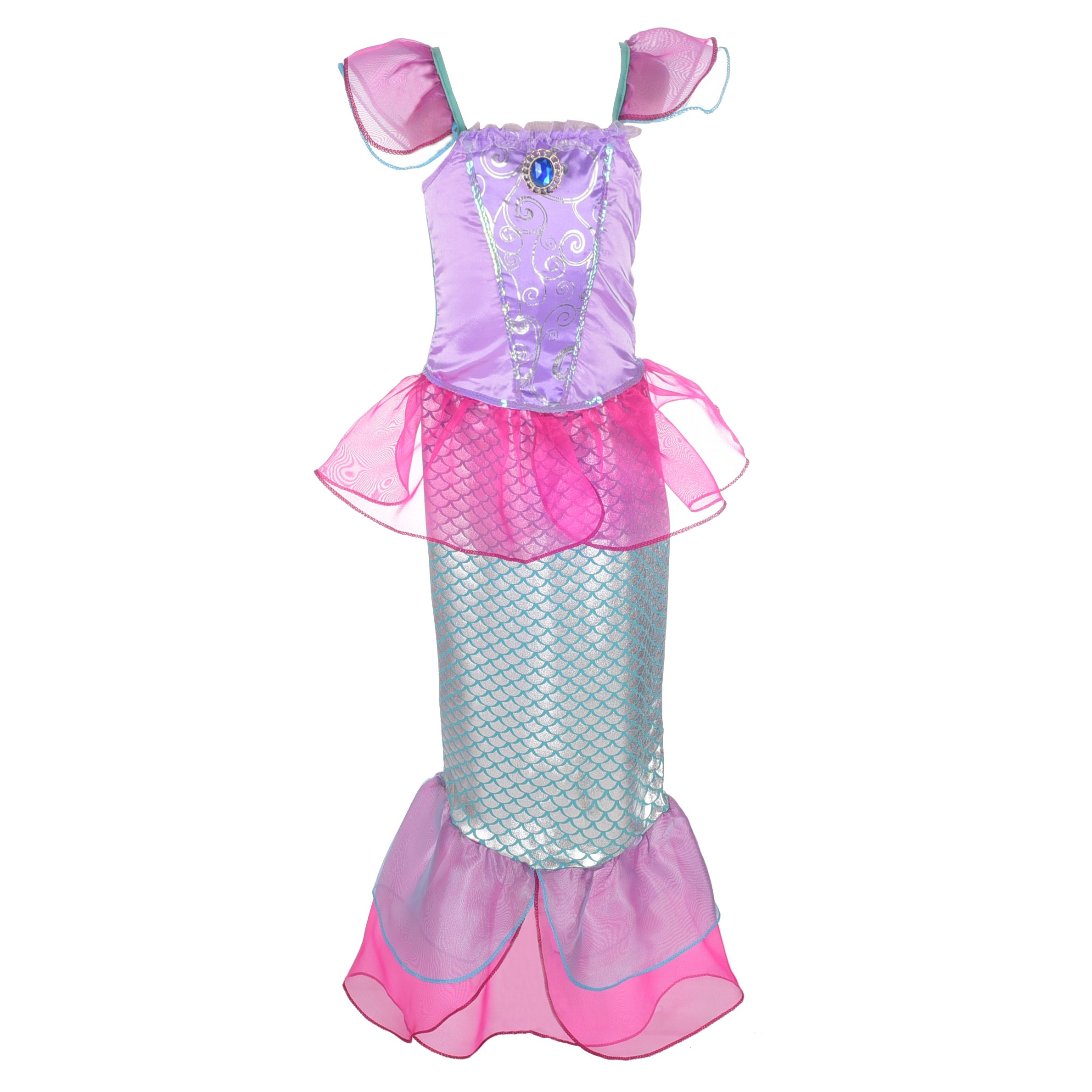 Get Quotations · Dressy Daisy Girls  Princess Mermaid Fairy Tales Costume  Cosplay Fancy Dress Party 28c51cf60