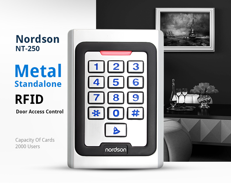 Metal Keypad RFID Card Access Controller,Door Access Control System